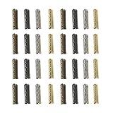 Healifty 80 piezas de puntas de encaje de repuesto para zapatos, punta de metal, para reparación de zapatos, botas de deporte, patines