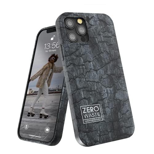 Wilma Biodegradable Compatible con iPhone 12 Pro MAX Funda, 6.7 Inches, Cero Desperdicio, Funda Protectora para Teléfono, Ecológico, Detener la Contaminación de Plásticos, Sin Plástico, Carbón