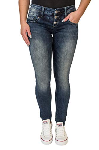 Lost in Paradise Melina (höhere Celina) darkblue Used Jeans Damen Denim (31/32)