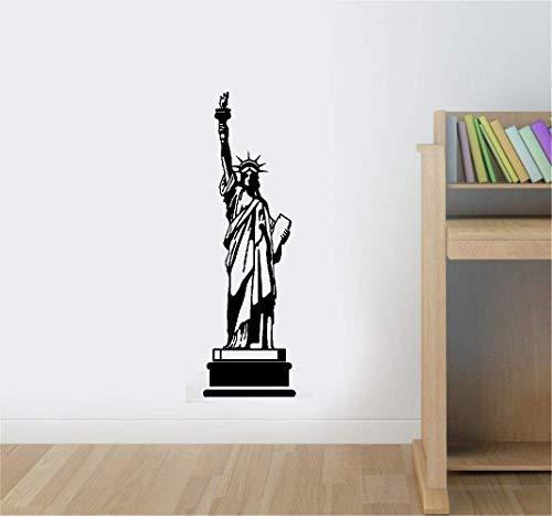 Wandtattoo Wohnzimmer Freiheitsstatue USA Amerika New York Wahrzeichen Wand Zimmer Aufkleber Aufkleber Fenster Schablonen Dekor