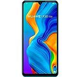 Huawei P30 Lite MAR-LX2 128GB, 6.15' Display, 6GB RAM, AI Triple Camera, 32MP Selfie, Dual SIM, GSM Unlocked International Model, No Warranty (Peacock Blue)
