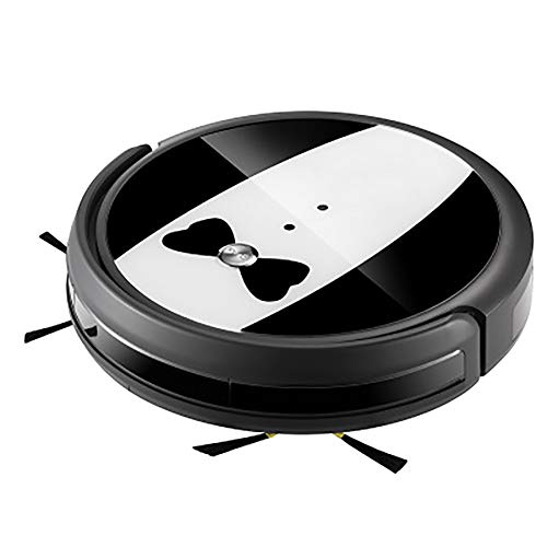 Read About Strong Suction Super Quiet SelfCharging Robotic Vacuum Cleaner Cleans Hard Floors to Medi...