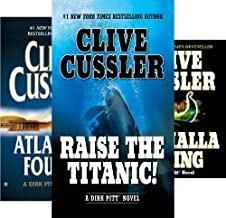 Clive and Dirk Cussler's 23-book DIRK PITT Series -- Pacific Vortex / Mediterranean Caper / Iceberg / Raise the Titanic / Vixen 03 / Night Probe / Deep Six / Cyclops / Treasure / Dragon / Sahara / +++