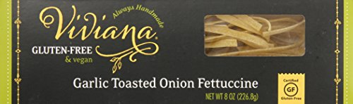 Viviana Certified Gluten-Free Fettuccine, Garlic Toasted Onion, 8 Ounce