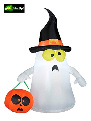 Gemmy 63975X EMW9267923 Inflatable Ghost, Standard, White