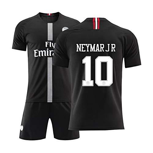 10# Neymar Jr Voetbal Jersey pak voor kinderen Unisex trainingshemden heren short wit pak mesh sneldrogend korte mouwen fans sweatshirt, verjaardagscadeau
