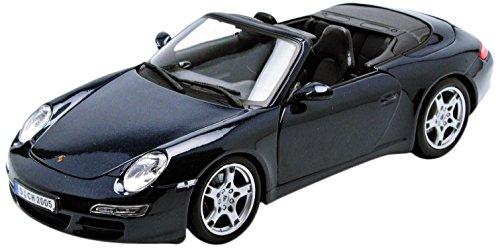 Maisto, Porsche 911 Carrera S Cabriolet, Azul Oscuro (31126)