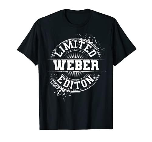 WEBER - Idea divertida de regalo de cumpleaños para árbol genealógico Camiseta