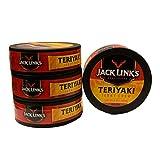 jacks links jerky chew - Jack Links Teriyaki Jerky Chew | Shredded Beef Jerky | .32 oz Canisters | Pack of 4