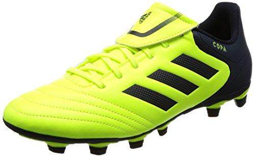 adidas Copa 17.4 FxG, Zapatillas de Fútbol Para Hombre, Multicolor (FTWR White/Onix/Clear Grey), 46 EU