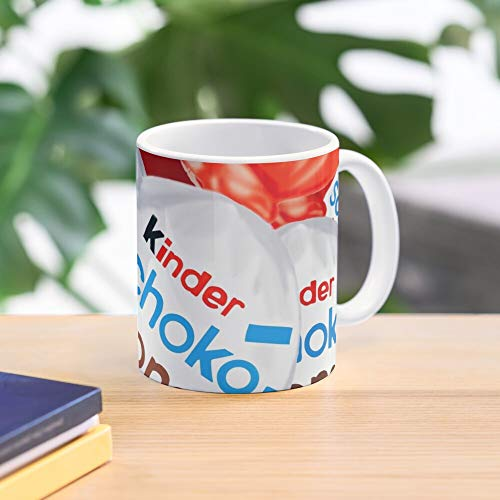 5TheWay Delicious Kinder Schokobons Mug Best 11 oz Kaffeebecher - Nespresso Tassen Kaffee Motive