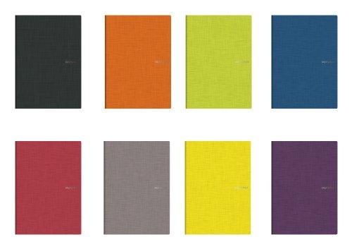 Fabriano - Taccuini tascabili a quadretti, formato A5, confezione da 10, colore: Multicolore