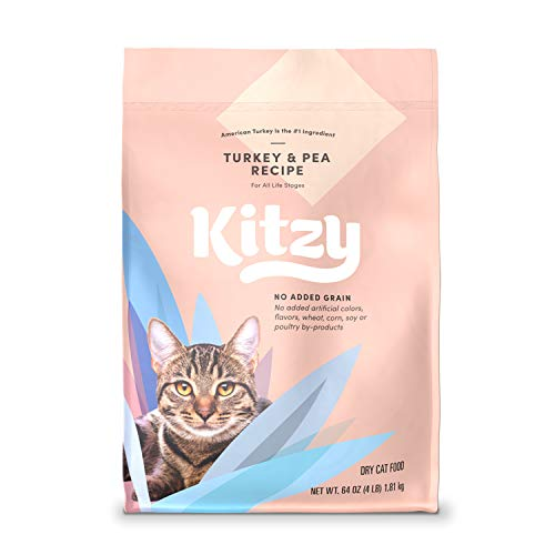 Kitzy Dry Cat Food 4 lb bag Now $4.63 (Was $10.29)