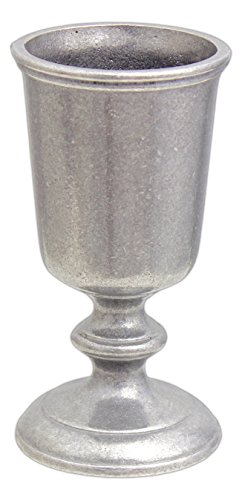 Carson Home Accents 12 Ounce Statesmetal Danforth Goblet