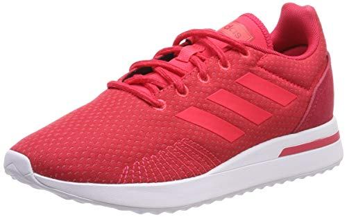 Adidas Run70S Zapatillas de Running Mujer, Rosa (Active Pink/Shock Red/Ftwr White Active Pink/Shock Red/Ftwr White), 36 EU (3.5 UK)