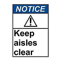 エンジニアグレードのブリキの看板、通知通路をクリアラベル、公園の看板公園のガイド警告サイン私有財産の金属屋外の危険サイン