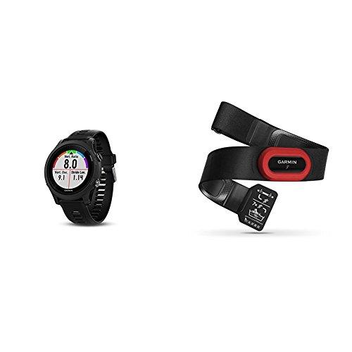 Garmin Forerunner 935 Running GPS Unit (Black) and HRM-Run Heart Rate Monitor Bundle