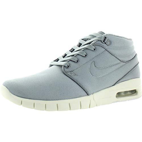 NIKE Stefan Janoski Max MID Mens Fashion-Sneakers 807507-004_6 - Wolf Grey/Wolf Grey-Cool Grey