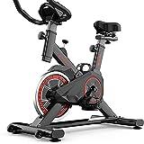 JKLP Bici da Spinning, Spin Bike Cyclette per Allenamento aerobico, sellino ergonomico,Home Trainer,...