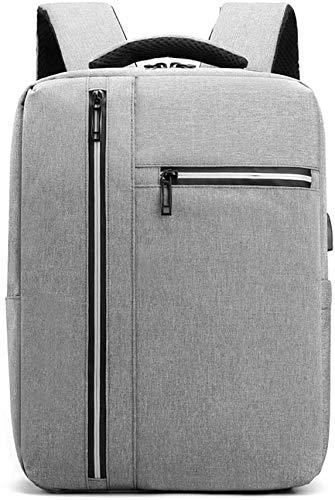 ZJX168 Rugzak voor laptops en netbooks, casual, originele rugzak voor heren, vintage, USB
