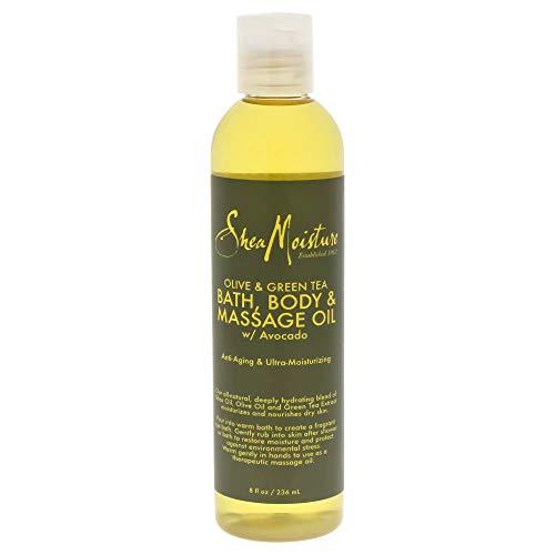 SHEA MOISTURE Olive/Green Tea Bath-Body/Massage Oil