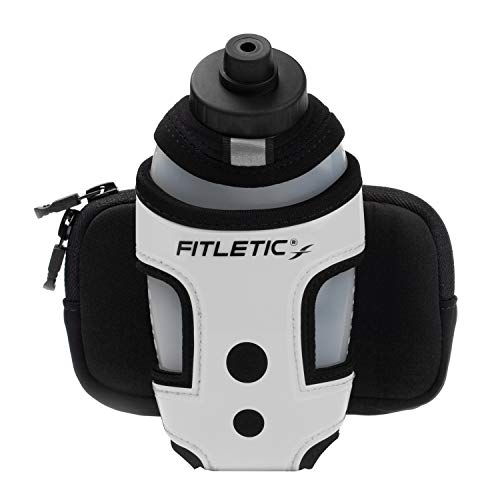 Fitletic Handheld Water Bottle - Silver