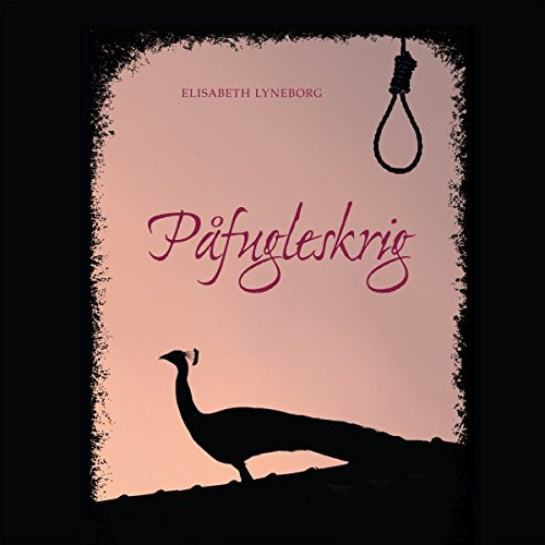Påfugleskrig audiobook cover art