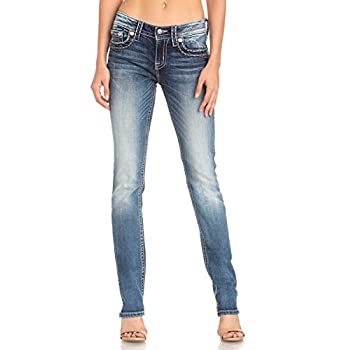 Miss Me - - Frauen Mid Rise Chloe Boot Jeans