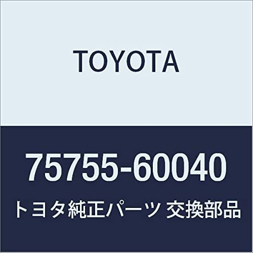 Outstanding TOYOTA Max 56% OFF Genuine 75755-60040 Frame Window Molding