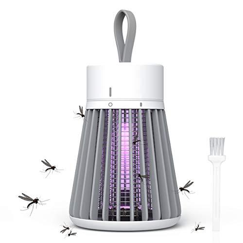 Nxtree Lámpara Antimosquitos Electrico,Lámpara Repelente,Lámpara Camping Antimosquitos,Impermeable Lampara para Mata Mosquitos Insectos,360°...