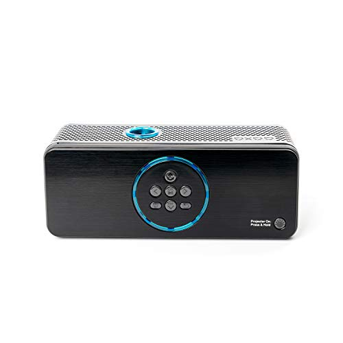 AAXA BP1 Speaker Projector � Bluetooth 5.0, Battery Power Bank, Up to 6 Hour Projection or 24 Hours Playtime, USB C Mirroring, Onboard Media Player, HDMI, DLP Portable Mini LED Projector Photo #7