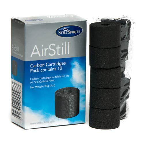 Air Still Carbon Cartridge Replacement Pack of 10