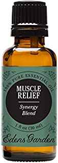 Edens Garden Muscle Relief Essential Oil Synergy Blend, 100% Pure Therapeutic Grade (Highest Quality Aromatherapy Oils- Massage & Pain), 30 ml
