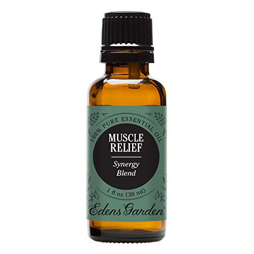 Edens Garden Muscle Relief Essential Oil Synergy Blend, 100% Pure Therapeutic Grade (Massage & Pain) 30 ml