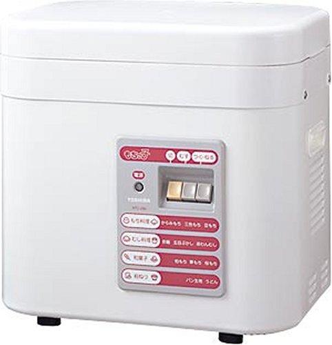 TOSHIBA Mochi-kko rice cake machine Pure White AFC-296 (WT)