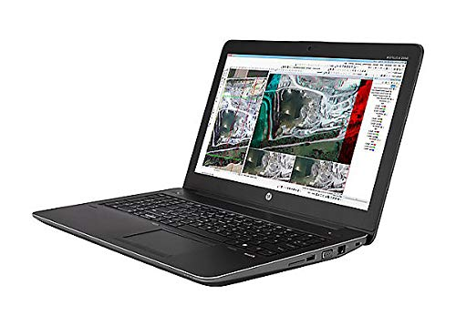 HP ZBOOK 15' G3 Mobile Workstation, Intel CORE I7-6700HQ @2.6GHZ, 8GB RAM, 256GB SSD, Intel HD Graphics 530, Windows 10 PRO Laptop (Renewed)