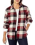 Carhartt Damen Rugged Flex Hamilton Fleece Lined Shirt Button Down Hemd, Port, Groß