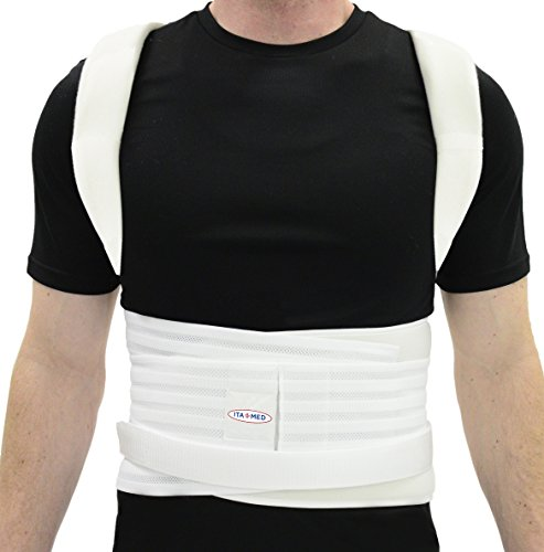 Ita-med Complete Posture Corrector Back Support Brace for Men