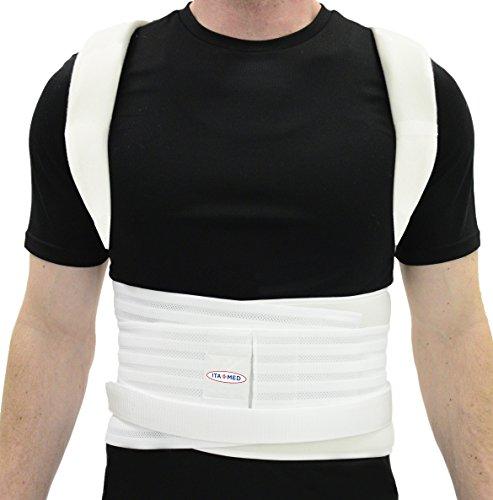 Ita-med Complete Posture Corrector Back Support Brace for Men