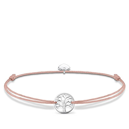 THOMAS SABO Damen Armband Little Secret Tree of Love 925er Sterlingsilber LS031-401-19