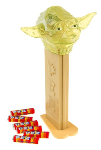 Star Wars GIANT PEZ ~ TRANSLUCENT GREEN YODA ~Limited Edition by Brand New Products LLC