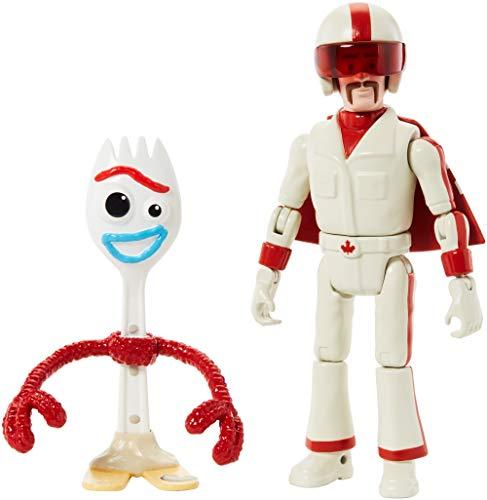 Mattel GGX29 - Disney Pixar Toy Story 4 Forky und Duke Caboom Actionfiguren, Spielzeug ab 3 Jahre