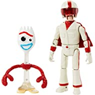 Disney Pixar Toy Story Forky and Duke Caboom Figures