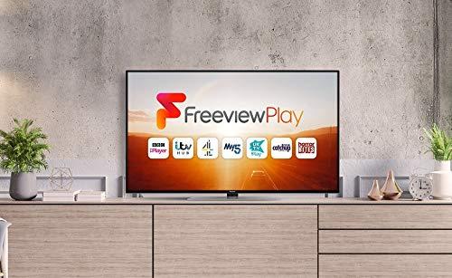 Panasonic TX-55GX551 55 inch 4K Ultra HD HDR Smart TV with Freeview Play, Black