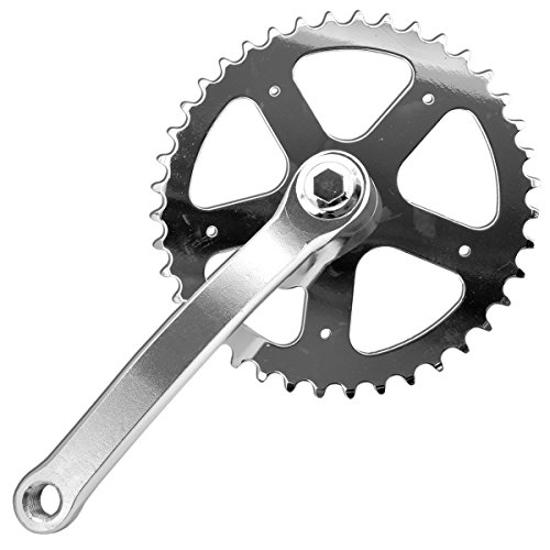 Piñones y bielas, entrada BMX fija, 165 mm, 40 dientes, bicicleta
