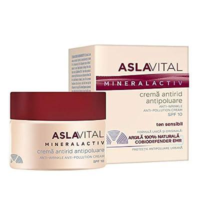 ASLAVITAL MINERALACTIV Anti-wrinkle anti-pollution cream SPF10 from Farmec