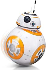 FSLLOVE FANGSHUILIN 2.4G Remote Control Robot Intelligent Star Wars Upgrade RC BB8 Robot with Music Sound Action Figure Gift Toys Ball BB-8 for Kids,Color:No Original Box (Color : No Original Box)