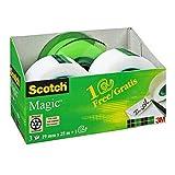 Scotch Magic Klebeband Promotion AAMT-3 – 3 Rollen beschriftbarer, matter Klebefilm 19 mm x 25 m...