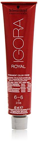 Preisvergleich Produktbild Schwarzkopf IGORA Royal Premium-Haarfarbe 6-6 dunkelblond schoko,  1er Pack (1 x 60 g)
