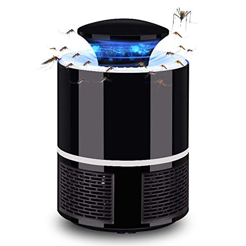 HCFSUK Mosquito Killer, Smart USB Mosquito Light, LED Insect Killer, Camping en Interiores y Exteriores